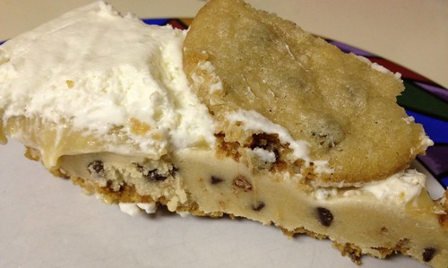 Cookie Dough Pie slice