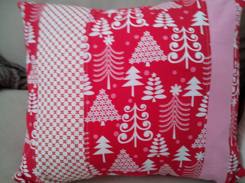 Christmas Pillow by mrsrachelsbooth