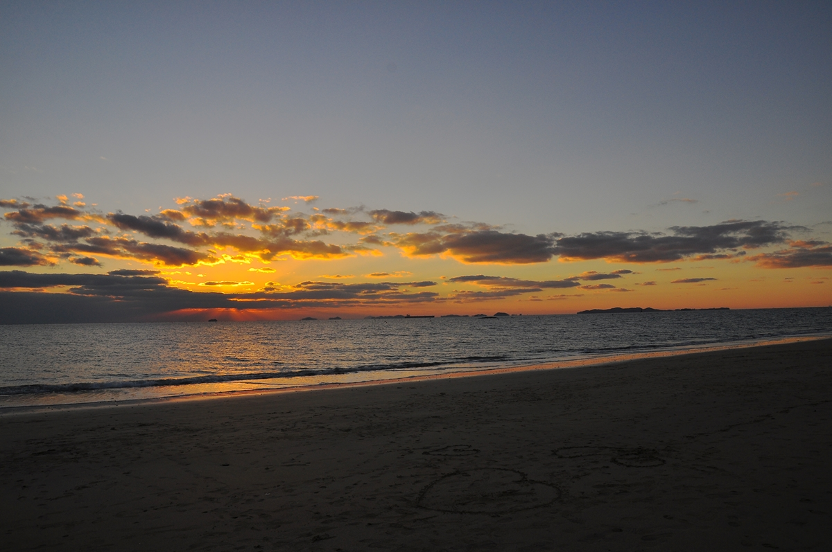 Daecheon Beach Sunset, November 2012