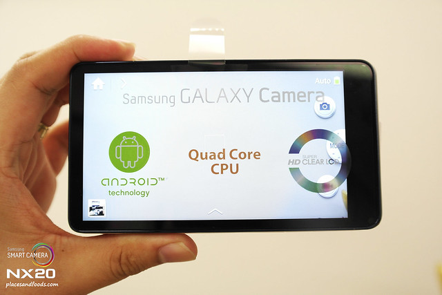 samsung galaxy camera LCD screen