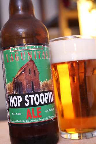 Lagunitas Brewing Co. Hop Stoopid Ale