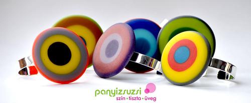 nagy színes karkötők - panyizsuzsi koncent