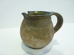 drinkware(0.0), art(1.0), jug(1.0), pottery(1.0), pitcher(1.0), tableware(1.0), vase(1.0), ceramic(1.0),