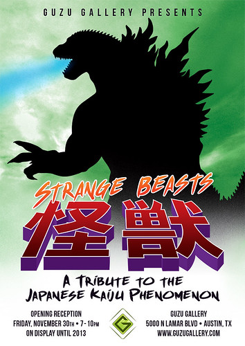Strange Beasts: A Tribute to the Japanese Kaiju Phenomenon by 1SHTAR
