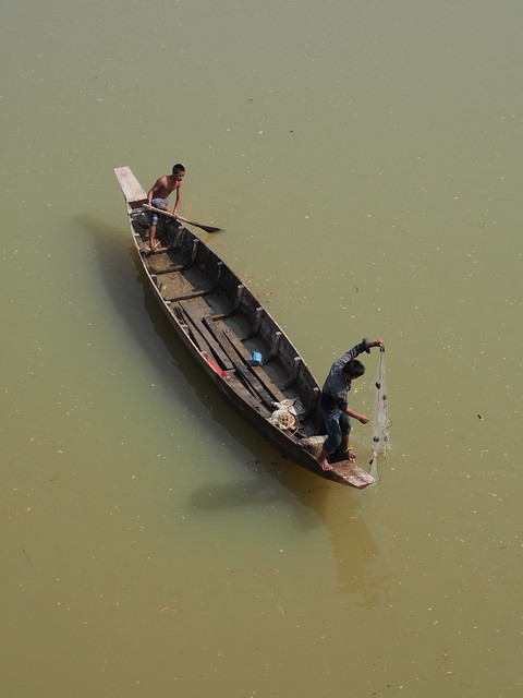 Fishermen in Chittagong Hill Tract