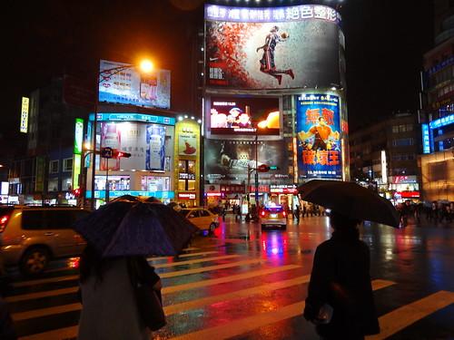 西門町の夜:The night of Ximending