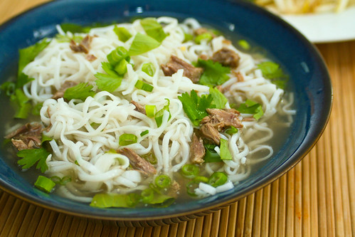 Pho Tai (Vietnamese Beef Noodle Soup)