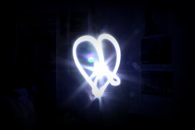 epämuodostunu sydän ja taustal mun aina nii siisti huone