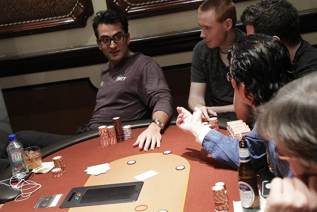 1028 Antonio Esfandiari Asks Scotty Nguyen to Flip the Card