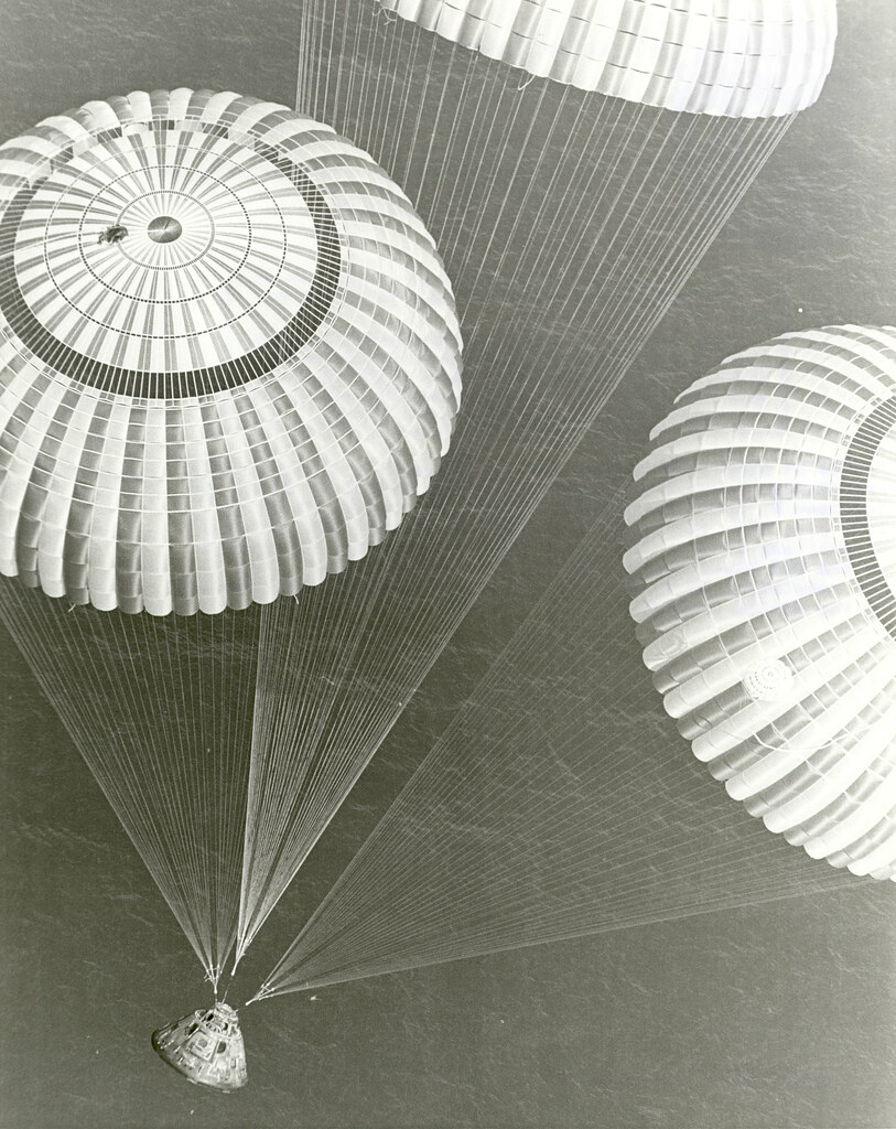 Apollo 17 Splashdown, December 19, 1972