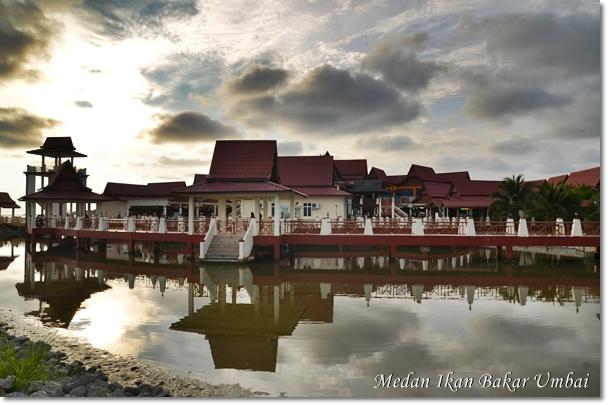 Medan Ikan Bakar Umbai, Melaka