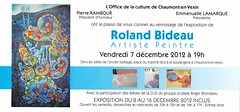 Roland Bideau invit dec 2012 - Photo of Bachivillers