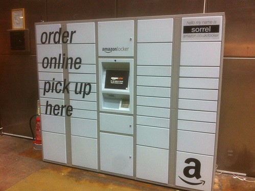 Amazon locker - Sorrel