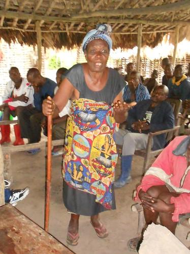 Woman has a say in Mangazumbu