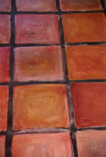 Pisos de barro clay floor tiles an album on flickr - Piso de barro ...
