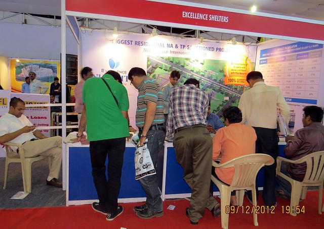 Pune Property Exhibition - Sakal Vastu - Property Expo - December 2012 - 22