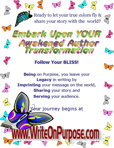 Awakened Author Challenge BLISS Butterfly
