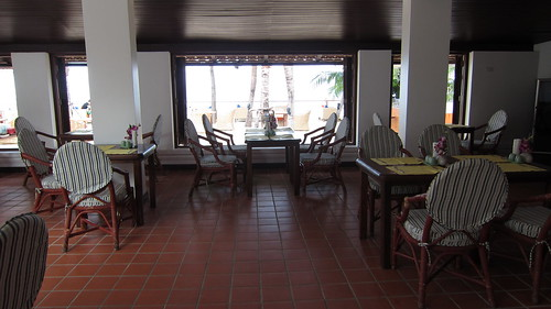 Samui PalmBeach Resort-restaurant サムイパームビーチリゾート (3)