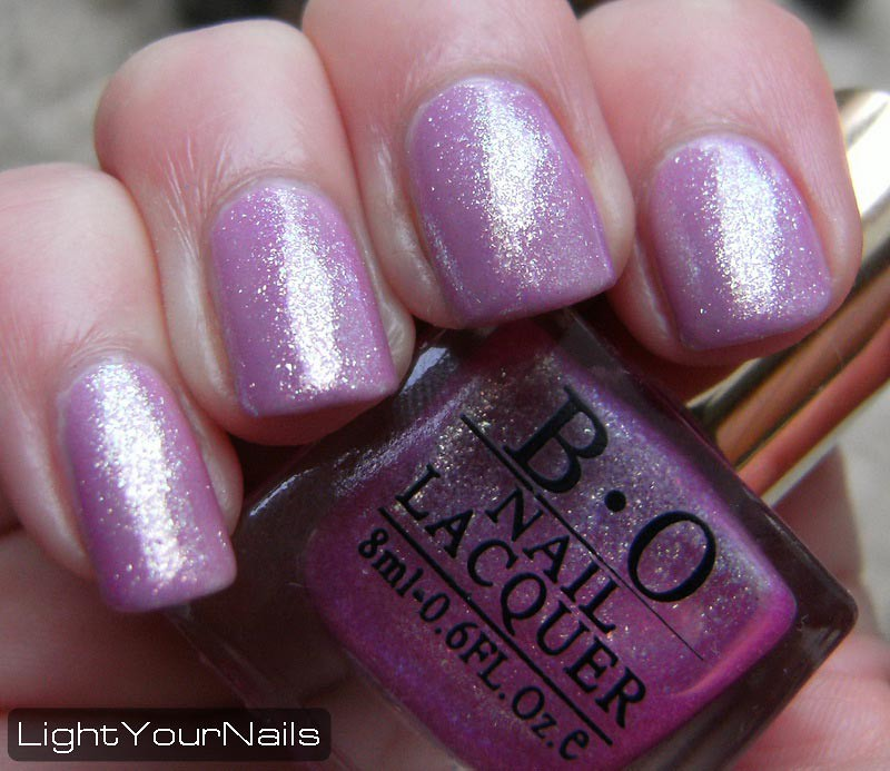 Born Pretty Store purple glitter