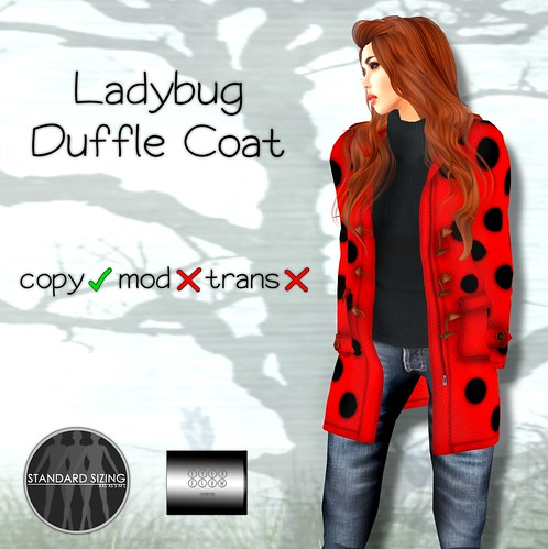 Ladybug Duffle Coat by even.flow