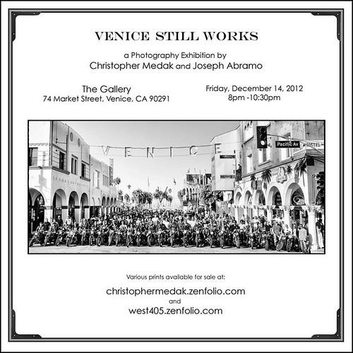 Photo Exhibition by Christopher Medak & Joseph Abramo