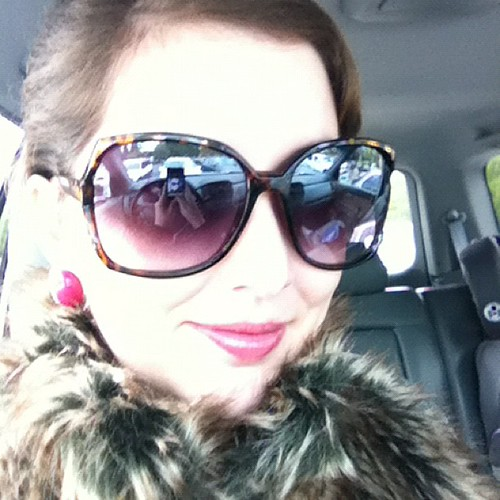 The morning after calls for lush (faux) furs, a French twist, big sunglasses, and an even larger Gingerbread Latte!