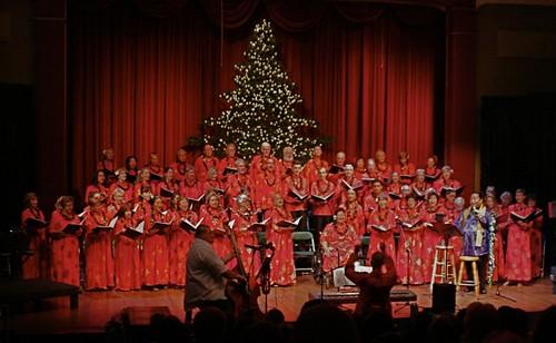 Na Leo Lani o Maui choir at Picnic for Poki/ Roselani Place