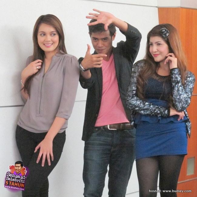 Pelakon Drama 'Setia Hujung Nyawa', Amar Ashraf, Nelydia Senrose & Bea Rameshan (2)