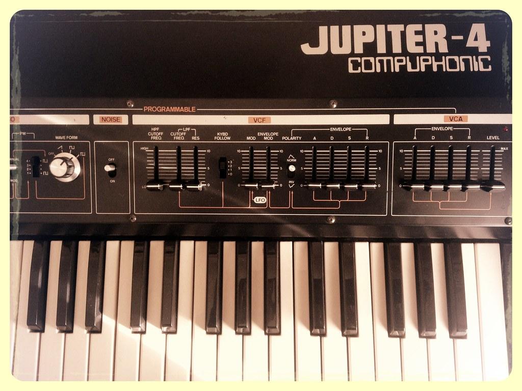 Jupiter 4 | Old school synth 1978 | roland jupiter 4 | Flickr