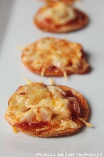 Minipizzas crujientes con queso cocina President (16)