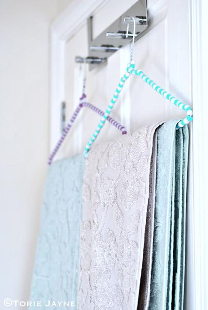 Beaded Hanger Towel Tutorial Torie Jayne