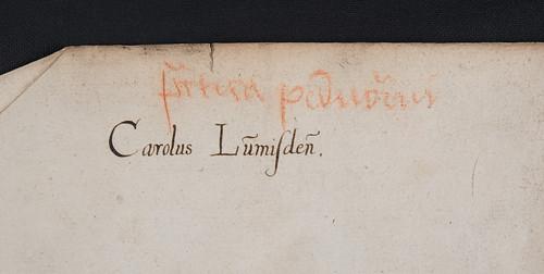 Manuscript autograph in Auerbach, Johannes: Processus iudiciarius