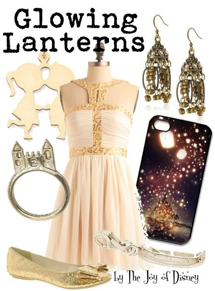 Glowing Lanterns (Tangled)