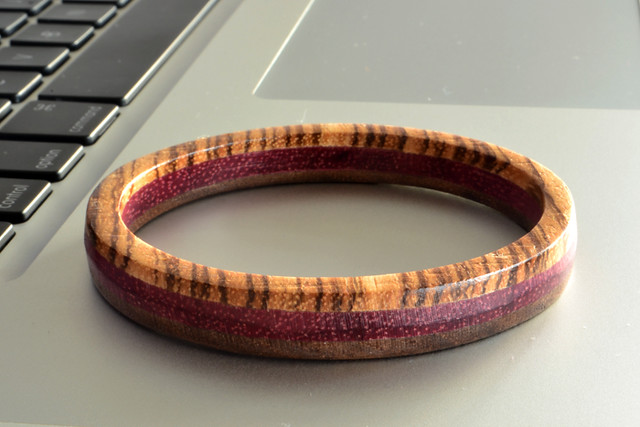Handmade Wooden Bangle