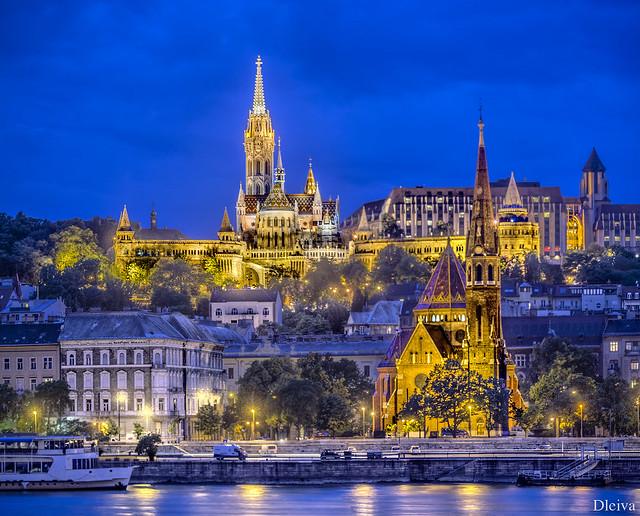 Iglesia de Matias e Iglesia Calvinista (Budapest)