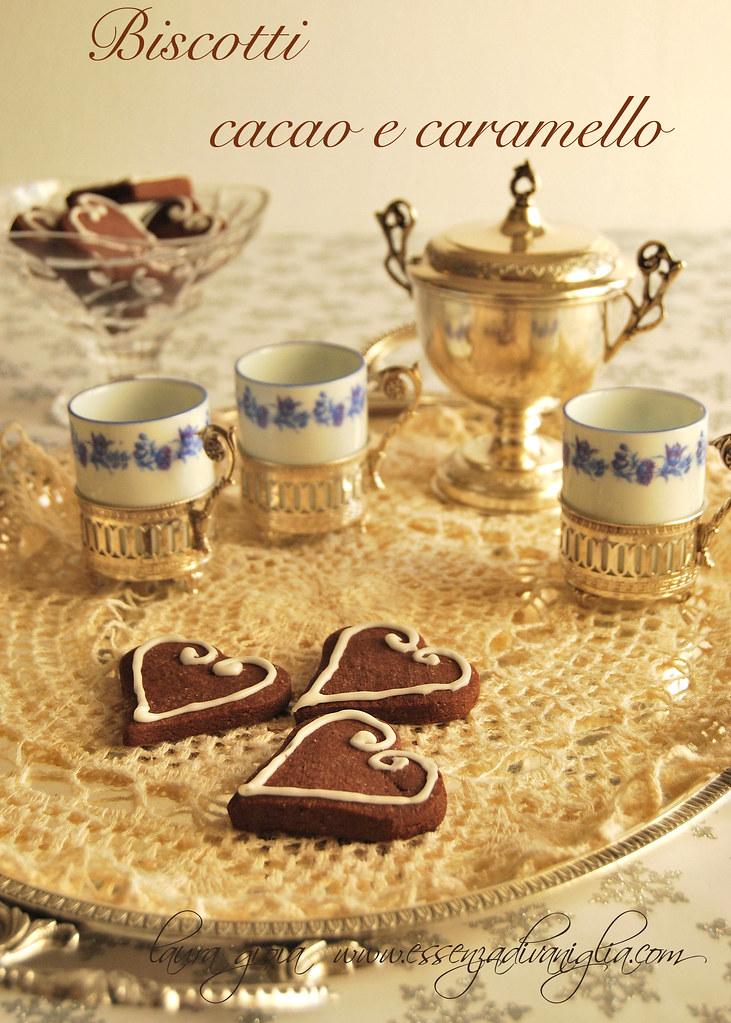 cuori cacao e caraemello