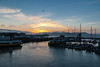 Sunset at Pier 39
