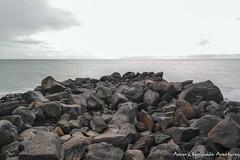 Rocks Into the Ocean