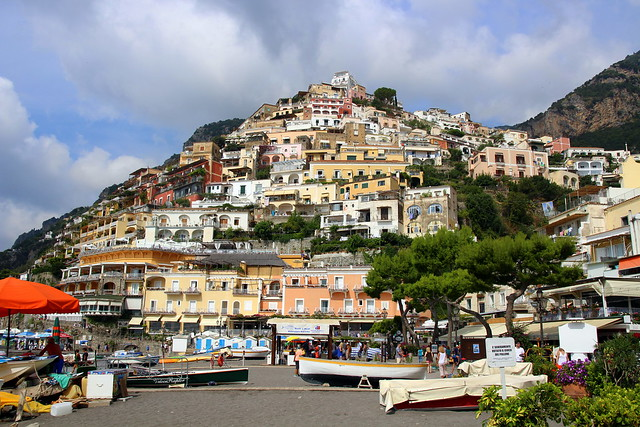 Postcard Positano view