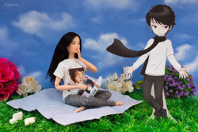 Yuzuru paper doll tesoro yuzuriano
