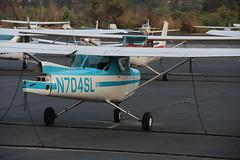 N704SL Cessna 150M Commuter at Santa Paula CA , KSZP