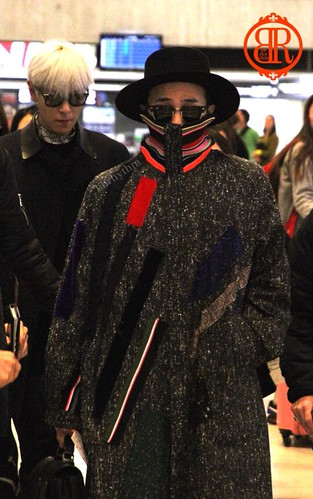 Big Bang - Gimpo Airport - 15jan2015 - BB Rhythm - 01