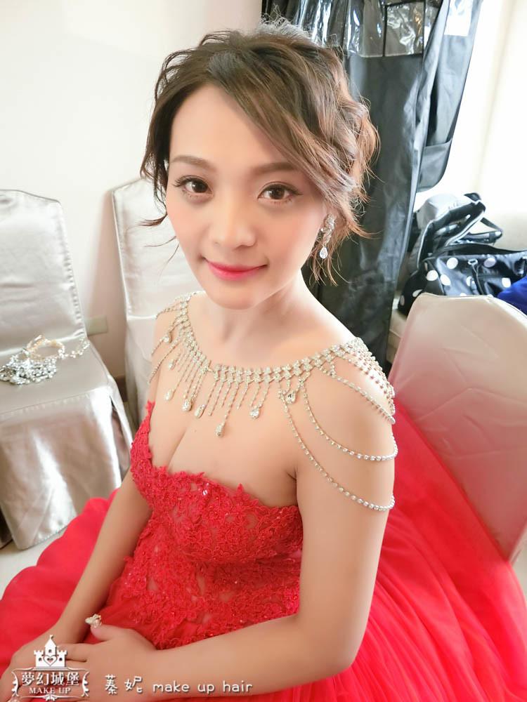 【新秘蓁妮】bride雅鈞 結婚造型 / 彰化昇財麗禧酒店