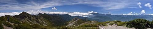 雪山山頂環景