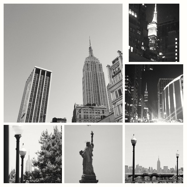 Empire State Building and Lady Liberty