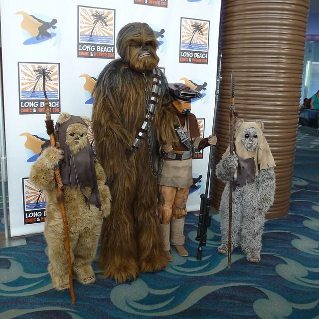 Chewie, Boushh & Ewoks