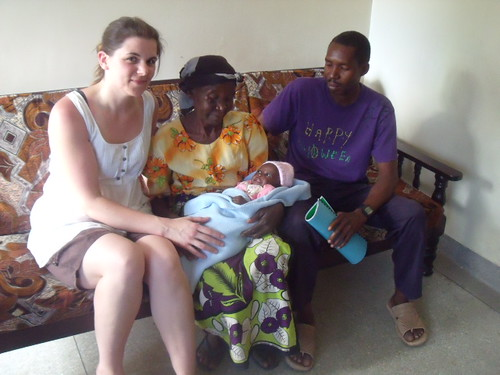 Father, Grandmother & Baby with Claire