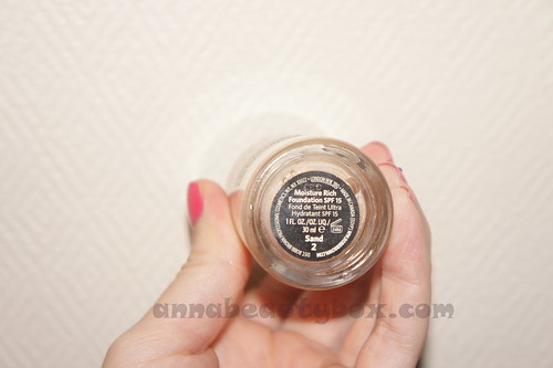 Bobbi Brown Moisture Rich Foundation