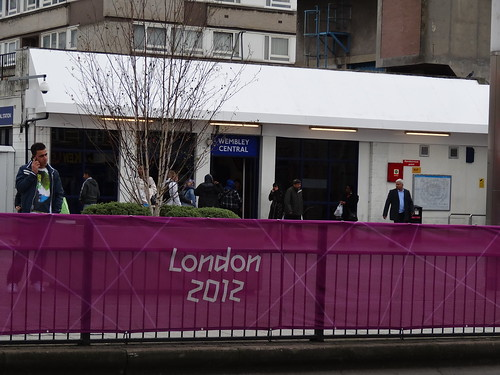 London 2012 at Wembley Central