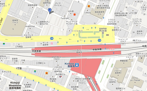 吉祥寺地圖